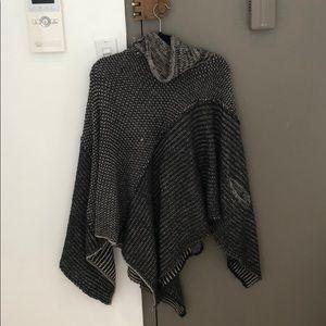 Handmade Blanket Knit Poncho